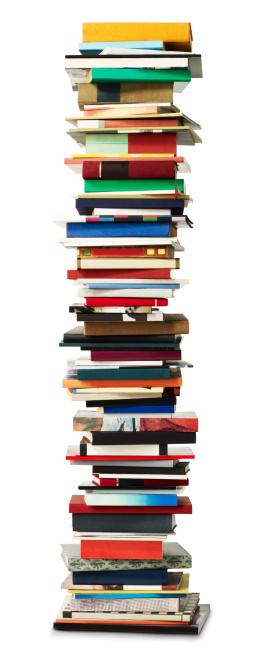 カラフル「Tall stack of Books」:スマホ壁紙(15)