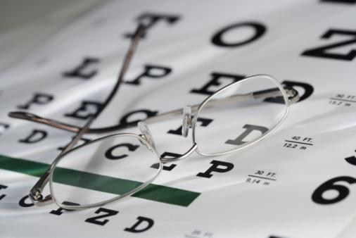 Optometrist「Eye glasses and chart」:スマホ壁紙(12)