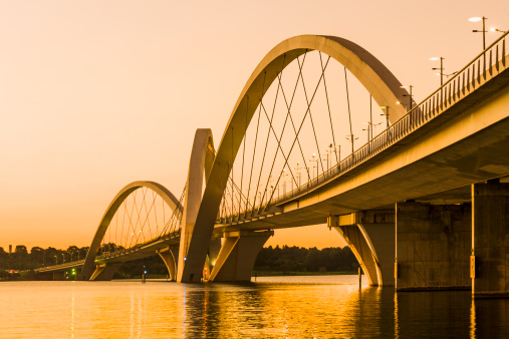 Arch - Architectural Feature「Bridge Juscelino Kubitschek」:スマホ壁紙(19)