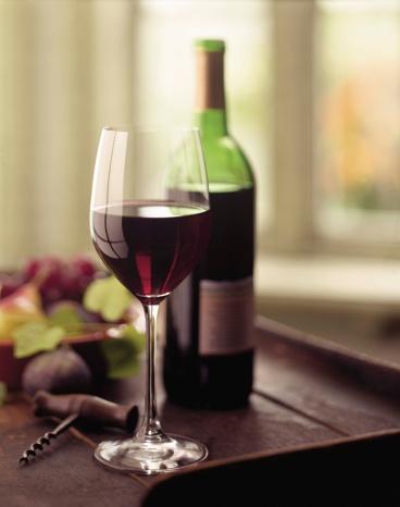 Wine Bottle「Wine glass with bottle」:スマホ壁紙(4)