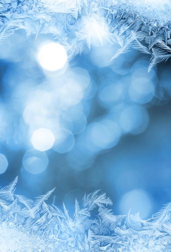 Frost「Ice flower frame on glass」:スマホ壁紙(16)