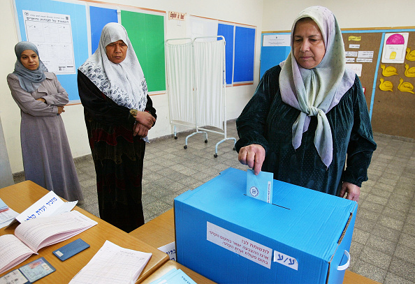 Middle Eastern Ethnicity「Israelis Vote In General Election」:写真・画像(0)[壁紙.com]