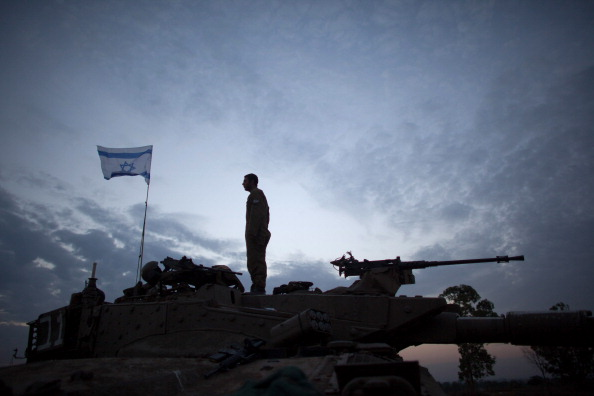 Gaza Strip「IDF Soldiers Remain On The Gaza Border After Cease Fire」:写真・画像(10)[壁紙.com]