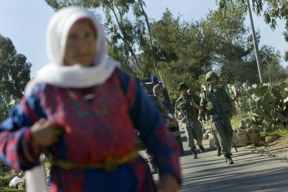 West Bank「Palestinians Protest Israel's Separation Fence In The West Bank」:写真・画像(8)[壁紙.com]