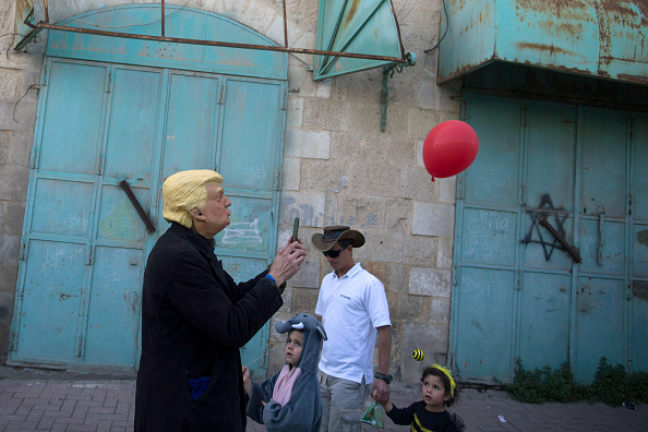 West Bank「Purim Parade In Hebron」:写真・画像(12)[壁紙.com]