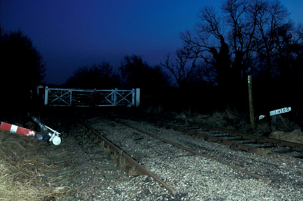 Finance and Economy「Draughton Crossing on the closed ex London North-western line between Market Harborough and Northampton.」:写真・画像(13)[壁紙.com]