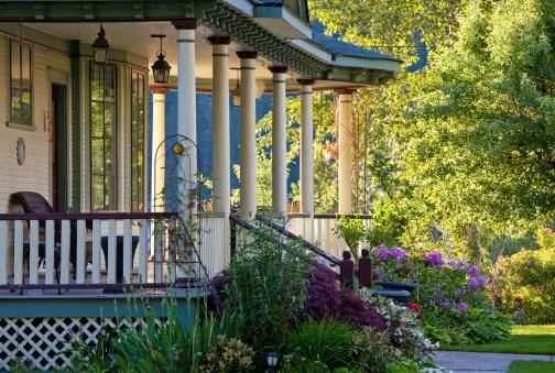Ornamental Garden「A beautiful Victorian veranda」:スマホ壁紙(9)
