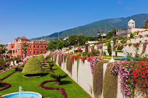 Atlantic Islands「Beautiful view of Liceo de Taoro, La Orotava, in Tenerife」:スマホ壁紙(3)