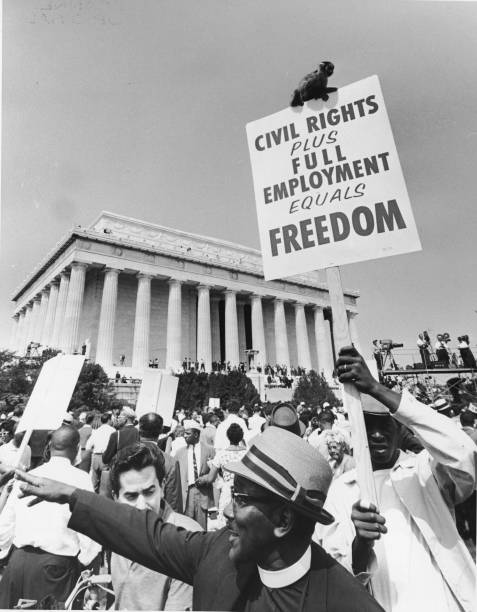 The March On Washington Reaches The Lincoln Memorial:ニュース(壁紙.com)