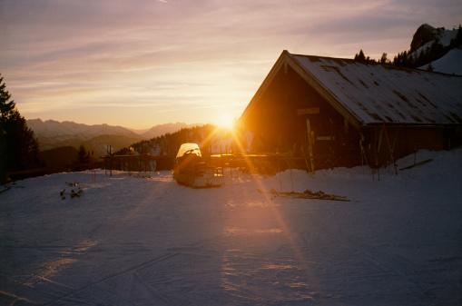Chalet「Ski lodge」:スマホ壁紙(16)