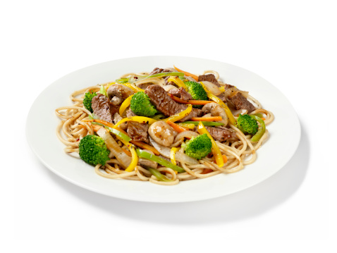 Stir-Fried「Szechuan Beef with Noodles」:スマホ壁紙(14)