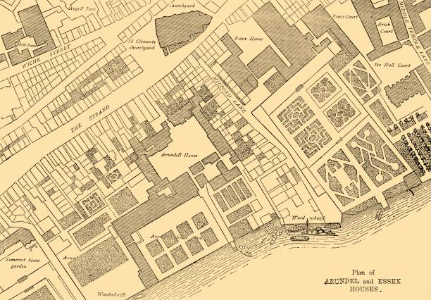 Plan Of Arundel And Essex Houses:ニュース(壁紙.com)