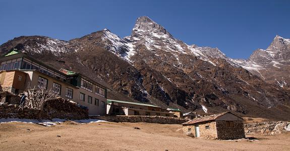 Khumbu「The village of Dole surrounded by Himalayan peaks, Everest Base Camp via Gokyo Trek, Nepal」:スマホ壁紙(9)