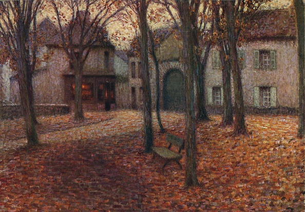 葉・植物「The Village In Autumn」:写真・画像(2)[壁紙.com]