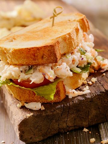 Toasted Food「Toasted Seafood Salad Sandwich」:スマホ壁紙(11)