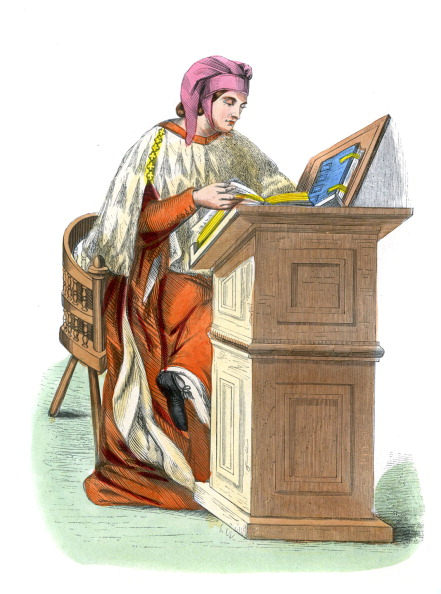 University「Lawyer or doctor of law in 14th century Italy,」:写真・画像(11)[壁紙.com]