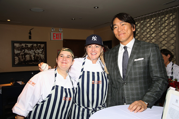 Hideki Matsui「Delta Air Lines Presents New York Yankees Pinstripe Brunch Hosted By Josh Capon - Food Network & Cooking Channel New York City Wine & Food Festival presented By FOOD & WINE」:写真・画像(13)[壁紙.com]