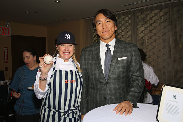 Hideki Matsui「Delta Air Lines Presents New York Yankees Pinstripe Brunch Hosted By Josh Capon - Food Network & Cooking Channel New York City Wine & Food Festival presented By FOOD & WINE」:写真・画像(3)[壁紙.com]
