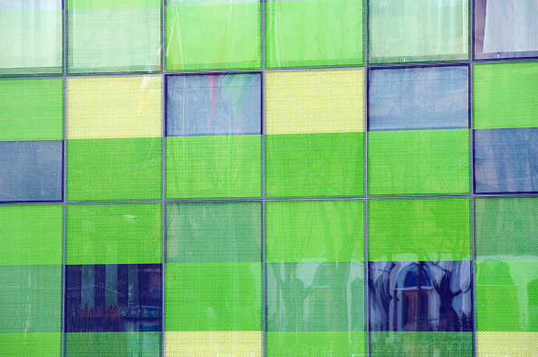 Full Frame「Detail of glass facade of new exclusive boutique hotel called The Opposite House in Beijing 2009」:写真・画像(6)[壁紙.com]