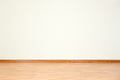 Parquet Floor「Empty Room and Blank Wall」:スマホ壁紙(8)