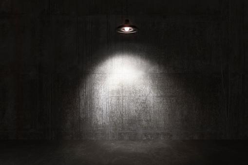 Spooky「Empty room, concrete walls and floor」:スマホ壁紙(11)