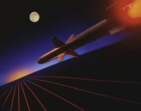 Battle「Speeding missile at night」:スマホ壁紙(18)