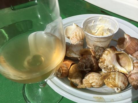 snails「sea snails (bulots) at wine street festival- Paris」:スマホ壁紙(12)