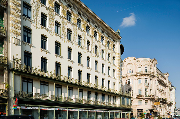 Apartment「Vienna, Art Nouveau, Tenement House Austria, Viennazeile 38 by Otto Wagner 1899, Decoration by Koloman Moser」:写真・画像(15)[壁紙.com]