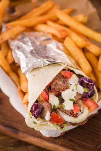 Middle Eastern Food「Doner Kebab」:スマホ壁紙(13)