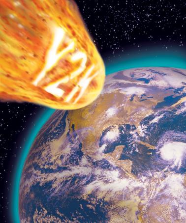Fireball「Y2K meteorite flying towards earth」:スマホ壁紙(17)