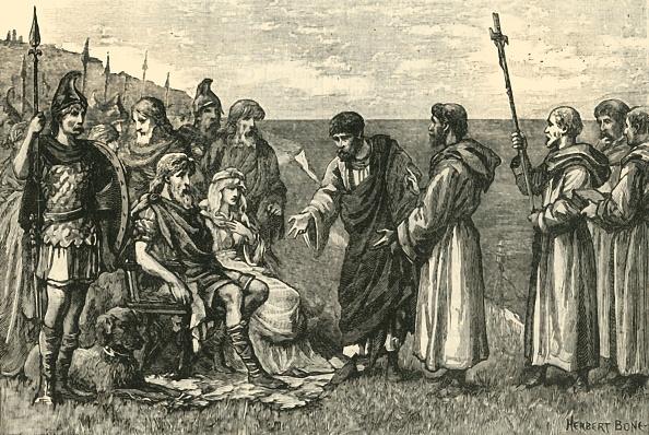 Benedictine「The Landing Of St Augustine In Kent」:写真・画像(1)[壁紙.com]