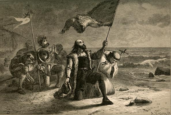 Christopher Columbus - Explorer「The Landing Of Columbus」:写真・画像(1)[壁紙.com]
