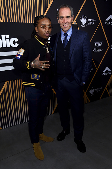Ciroc「Republic Records Celebrates the GRAMMY Awards in Partnership with Cadillac, Ciroc and Barclays Center - Red Carpet」:写真・画像(7)[壁紙.com]