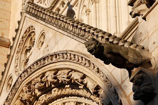 Nouvelle-Aquitaine「Saint Peter's & Saint Paul's cathedral, Poitiers」:スマホ壁紙(6)