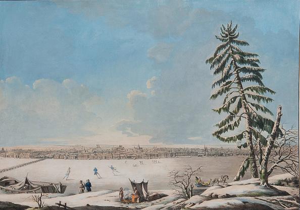 Neva River「Saint Petersburg: View over the Neva River, Early 1800s」:写真・画像(13)[壁紙.com]