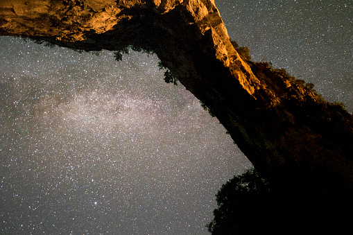 Guilin Hills「The Milky Way's photo was taken in karst cave, guilin, China」:スマホ壁紙(7)