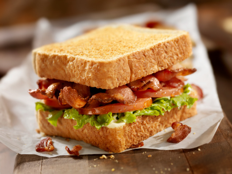 Fast Food French Fries「BLT Sandwich」:スマホ壁紙(6)