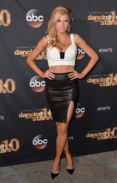 シャーロット・マッキニー「Premiere Of ABC's 'Dancing With The Stars' Season 20 - Arrivals」:写真・画像(16)[壁紙.com]
