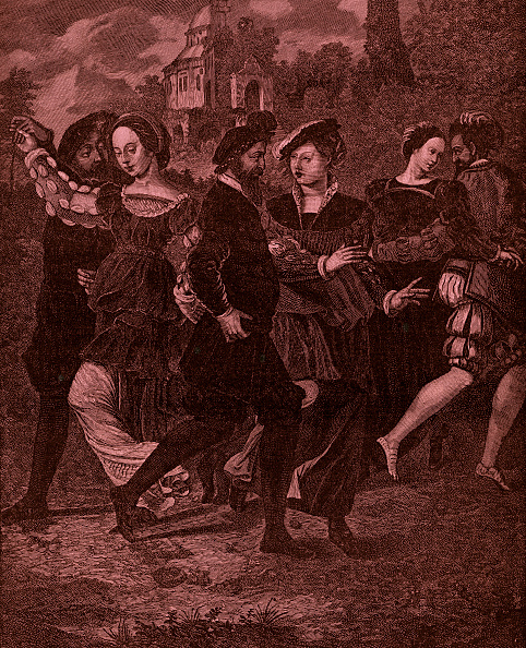 Anne Francis「The Dancing Picture by Hans Holbein (1497」:写真・画像(13)[壁紙.com]
