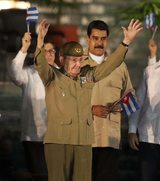 Place of Burial「Memorial Tribute For Fidel Castro Held In Santiago De Cuba」:写真・画像(15)[壁紙.com]