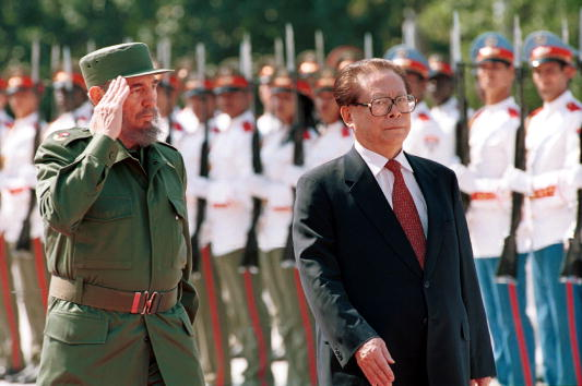 Cultures「Chinese President Jiang Zemin Visits Cuba」:写真・画像(14)[壁紙.com]