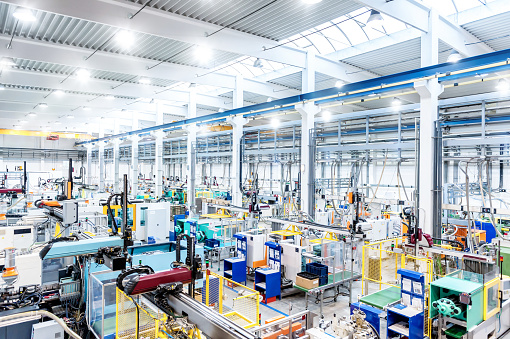 ������「Factory interior & futuristic machines」:スマホ壁紙(19)
