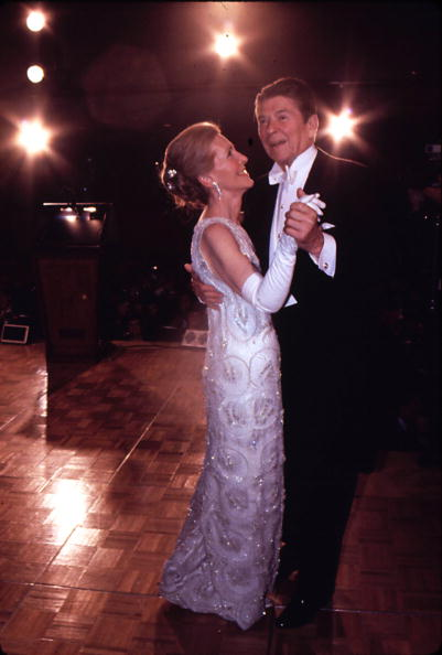 Sports Ball「Newly Elected Preident Ronald Reagan Seen Here Dancing With His Wife Nancy...」:写真・画像(8)[壁紙.com]