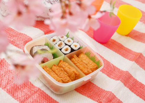 お花見「Flower viewing boxed lunch」:スマホ壁紙(12)