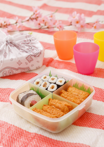 お花見「Flower viewing boxed lunch」:スマホ壁紙(13)