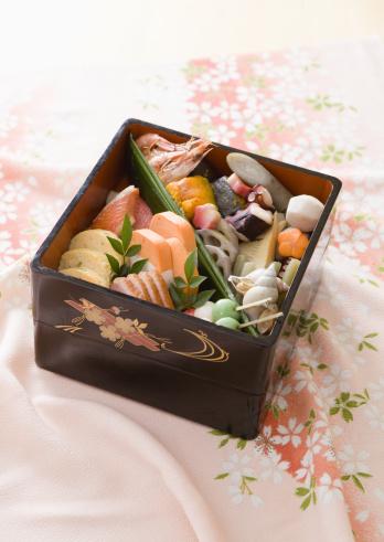 花見「Flower viewing boxed lunch」:スマホ壁紙(19)