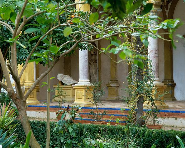 Casa De Pilatos「Structure with pillars and garden」:写真・画像(16)[壁紙.com]