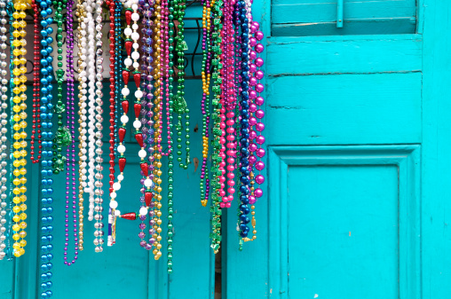 Gulf Coast States「Mardi Gras Beads in New Orleans」:スマホ壁紙(8)