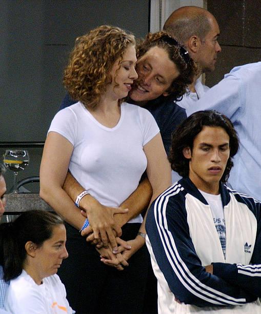 Chelsea Clinton And Boyfriend Watch 2002 U.S. Open Mens Finals:ニュース(壁紙.com)