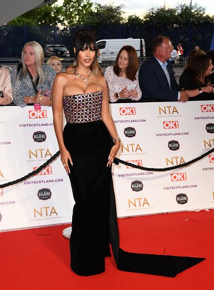 National Television Awards「National Television Awards 2021 - Red Carpet Arrivals」:写真・画像(1)[壁紙.com]